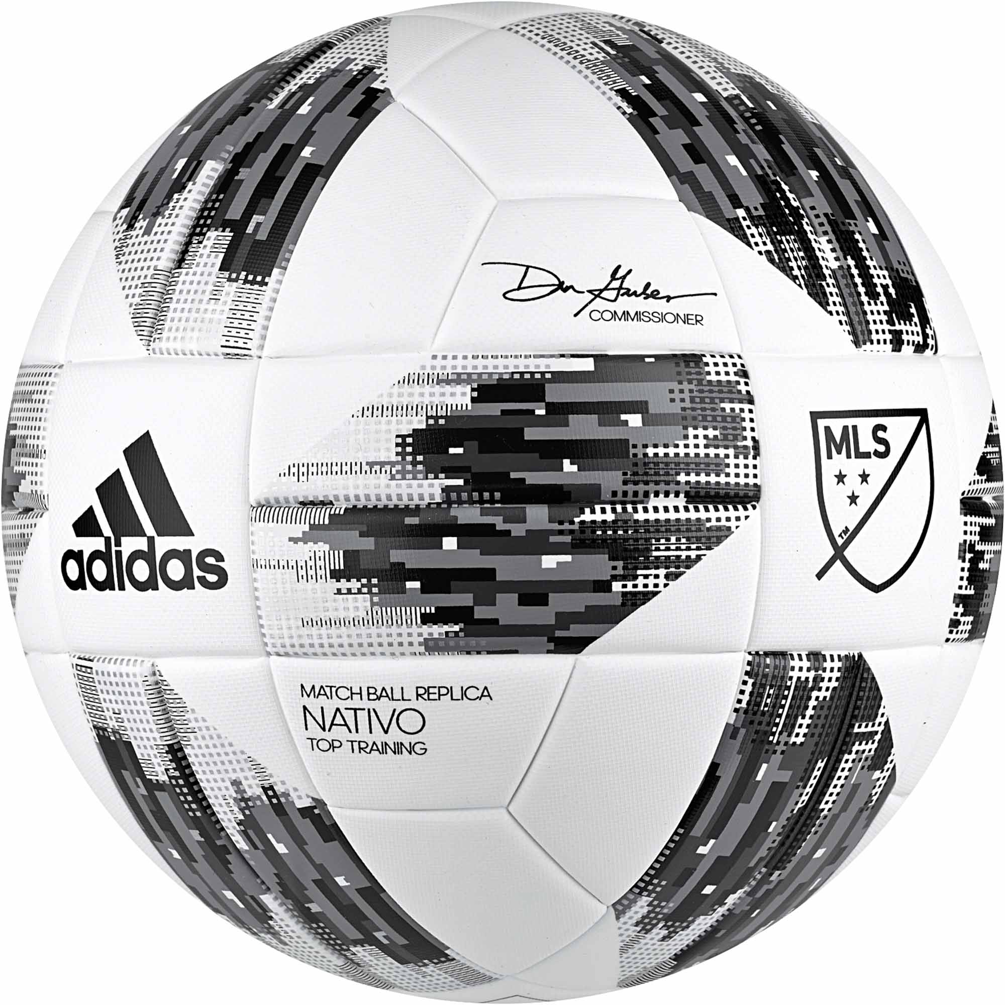 0296ad3bf1a adidas MLS Top Training Soccer Ball - 2018