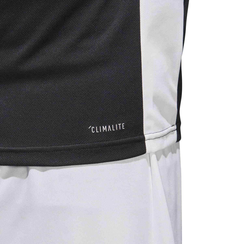 adidas Entrada 18 Jersey - Black - SoccerPro