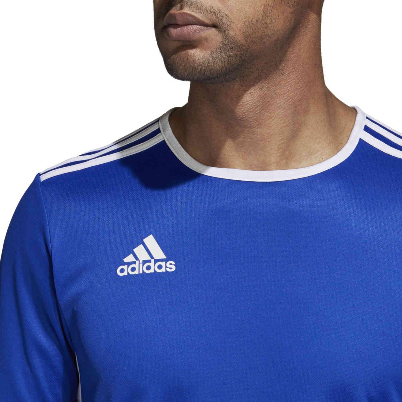 adidas Entrada 18 Jersey Bold Blue SoccerPro