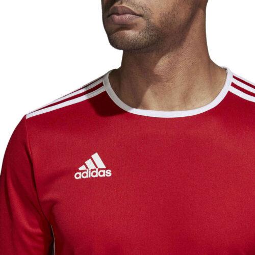 adidas Entrada 18 Jersey – Power Red
