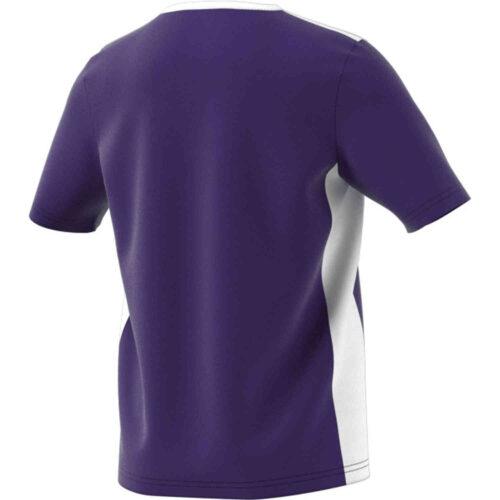 Kids adidas Entrada 18 Jersey – Collegiate Purple