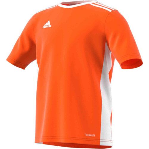 Kids adidas Entrada 18 Jersey – Orange