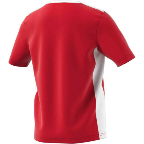 Kids adidas Entrada 18 Jersey – Power Red