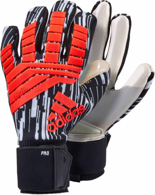 adidas Predator Pro Goalkeeper Gloves – Manuel Neuer – Solar Red/Black