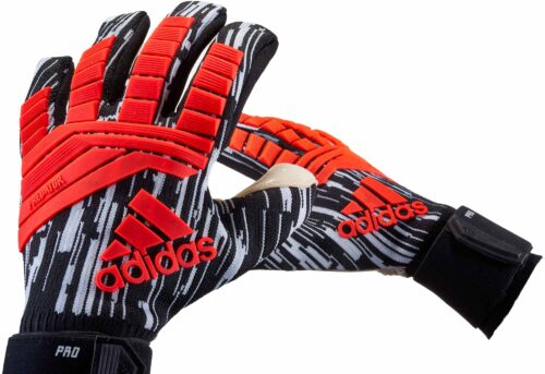adidas Predator Pro Goalkeeper Gloves – Manuel Neuer – Solar Red/Black