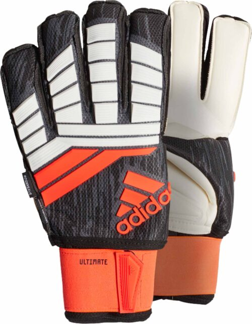 adidas Predator Ultimate Goalkeeper Gloves – Solar Red/Black