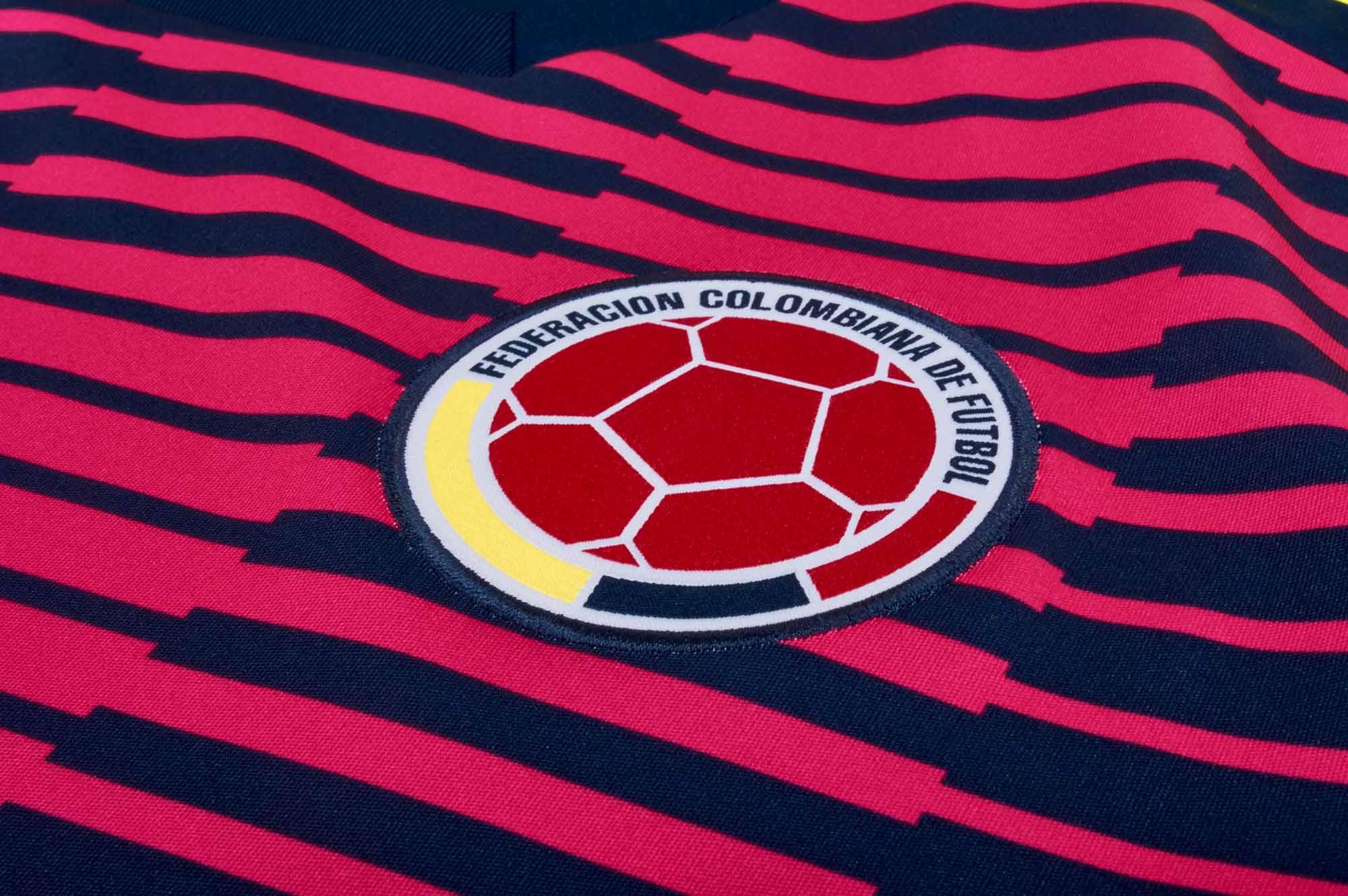 5c29861ee adidas Colombia Pre-match Jersey 2018-19 - SoccerPro