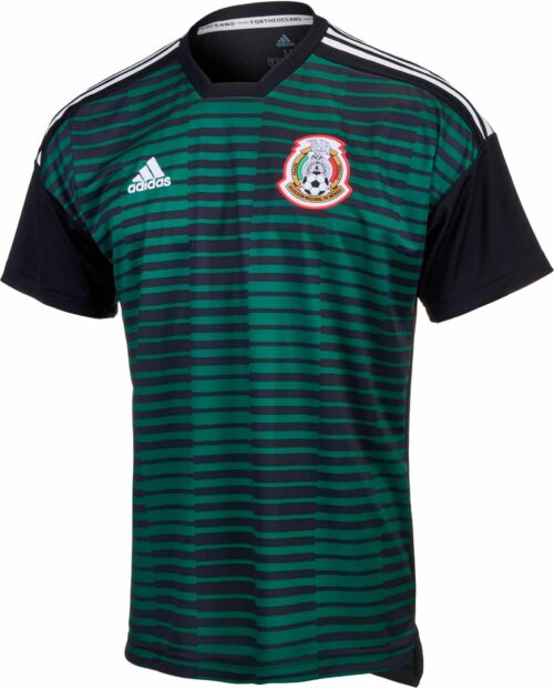 adidas Mexico Pre-Match Jersey – Youth 2018-19