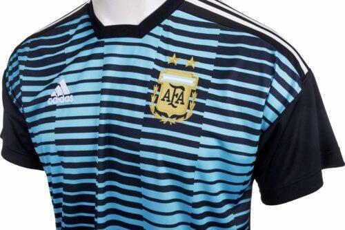 adidas Argentina Pre-match Jersey – Blue & Black
