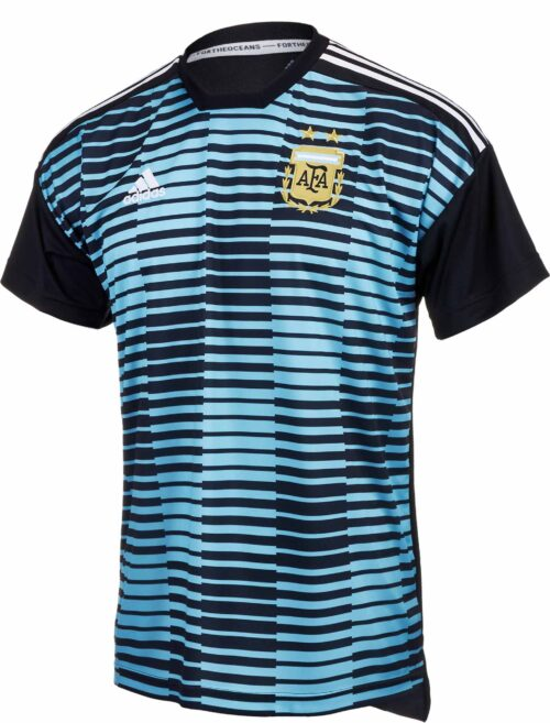 adidas Argentina Pre-match Jersey – Youth 2018-19