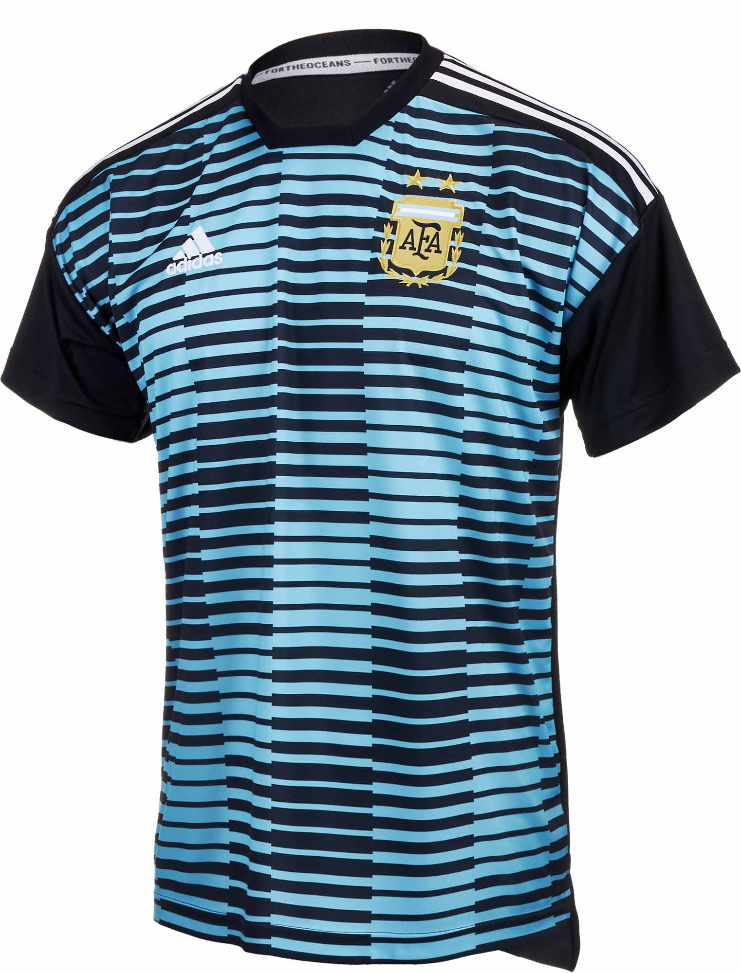 d8a057917 adidas Argentina Pre-match Jersey - Youth 2018-19 - SoccerPro