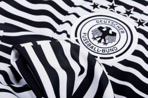 adidas Kids Germany Pre-match Jersey – White & Black