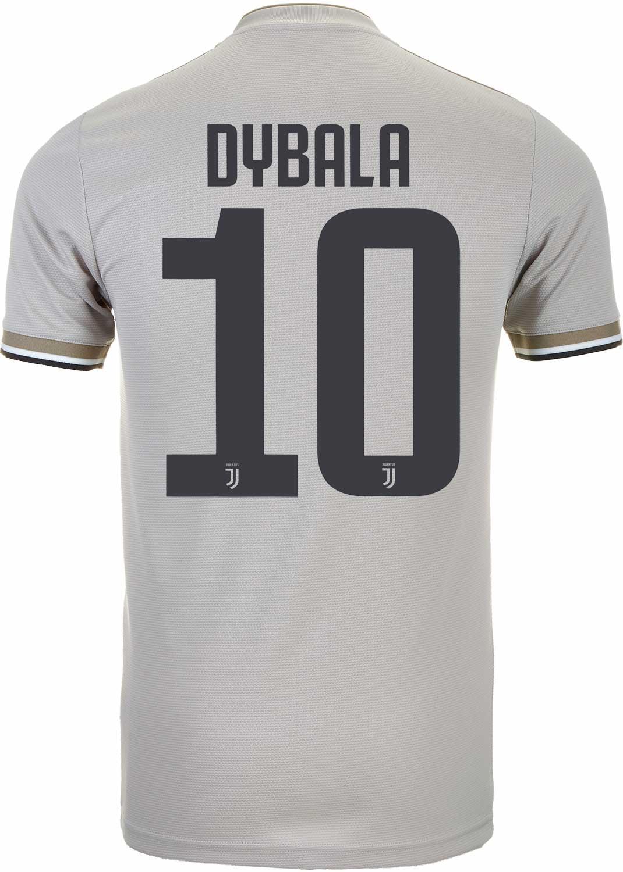 size 40 50c63 8870b 2018/19 adidas Paulo Dybala Juventus Away Jersey - SoccerPro