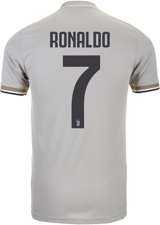 c63cde65080 2018 19 adidas Cristiano Ronaldo Juventus Away Jersey - SoccerPro