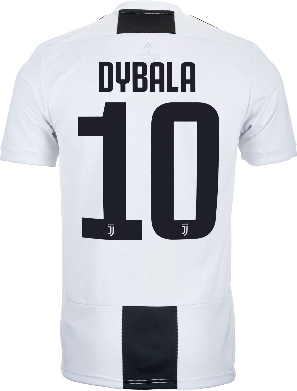 adidas Paulo Dybala Juventus Home Jersey 2018-19 - SoccerPro