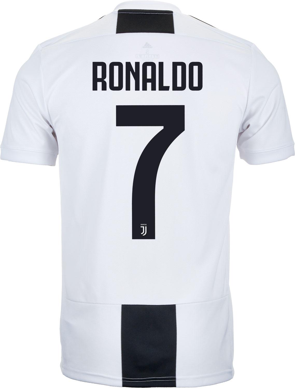 half off a2841 4511e adidas Cristiano Ronaldo Juventus Home Jersey 2018-19 ...