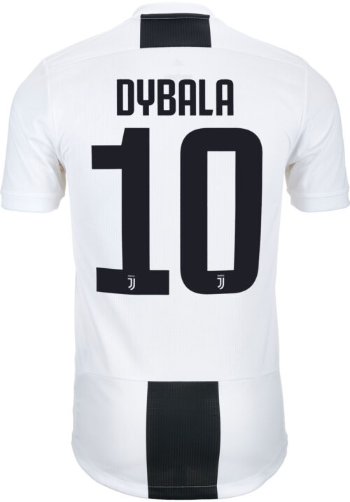 adidas Paulo Dybala Juventus Home Authentic Jersey 2018-19