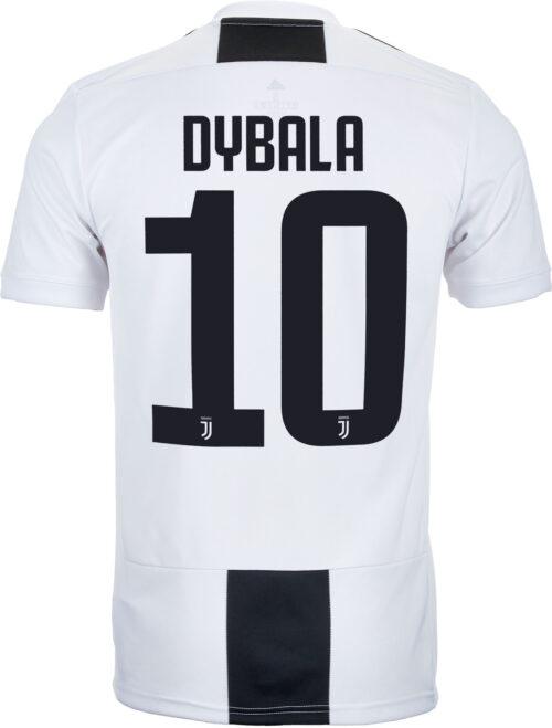 adidas Paulo Dybala Juventus Home Jersey – Youth 2018-19