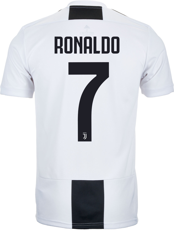 factory price 8b5f5 94160 adidas Cristiano Ronaldo Juventus Home Jersey - Youth 2018 ...