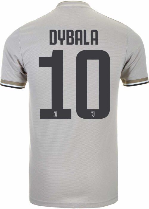 2018/19 Kids adidas Paulo Dybala Juventus Away Jersey