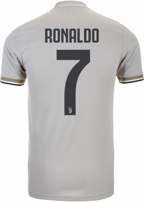 2018/19 Kids adidas Cristiano Ronaldo Juventus Away Jersey