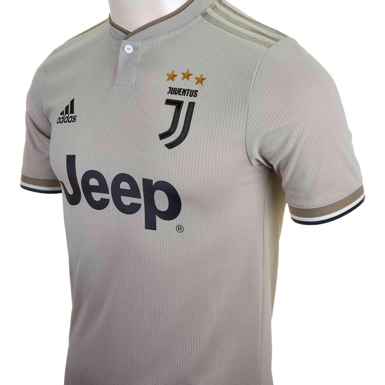 newest 14da3 666c4 adidas Juventus Away Authentic Jersey 2018-19 - SoccerPro