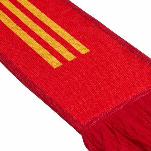adidas Spain Scarf – Red/Power Red/Bold Gold