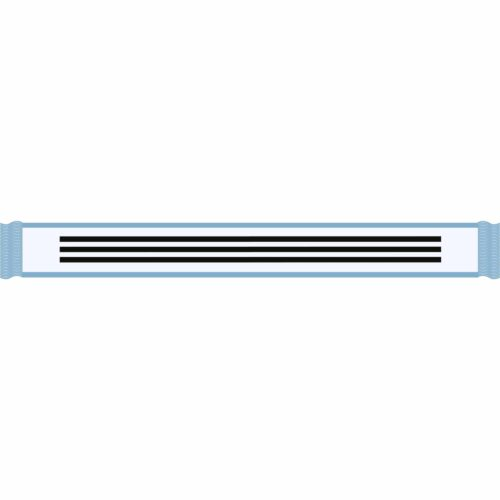 adidas Argentina Scarf – White/Clear Blue/Black