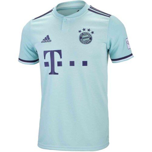 adidas Bayern Munich Away Jersey 2018-19