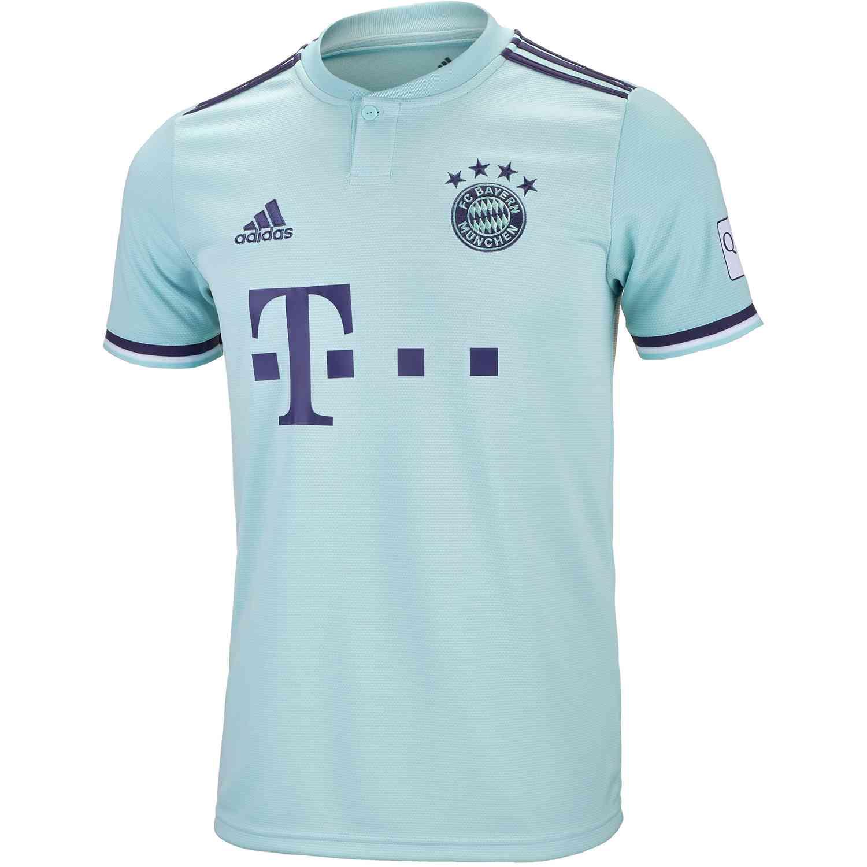 f6e5c66c6 adidas Bayern Munich Away Jersey 2018-19 - SoccerPro