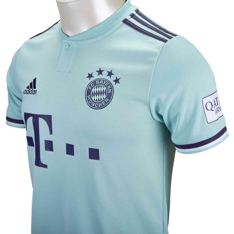 online retailer f6fb3 ca1f5 2018/19 adidas Thomas Muller Bayern Munich Away Jersey ...