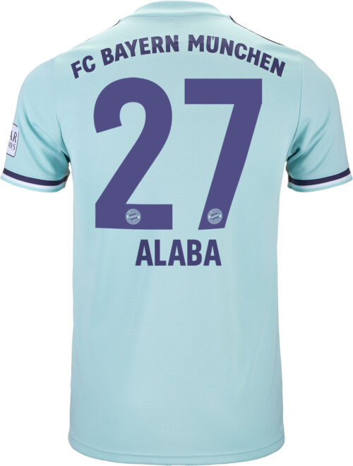 2018/19 adidas David Alaba Bayern Munich Away Jersey