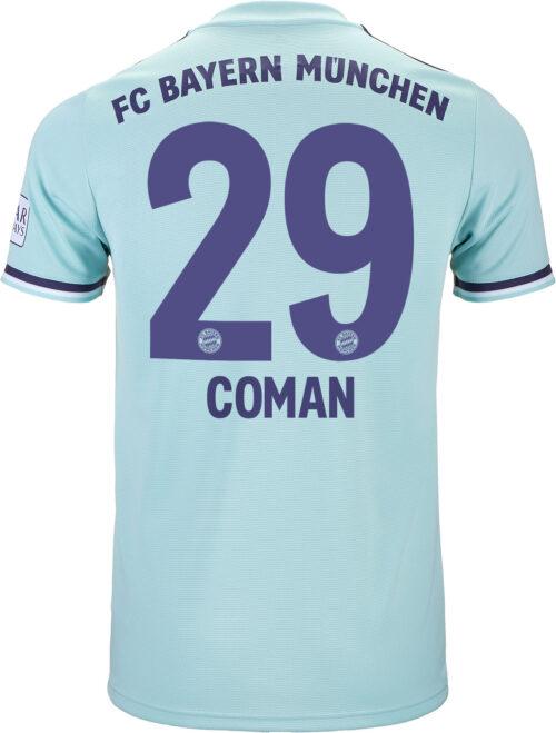 2018/19 adidas Kingsley Coman Bayern Munich Away Jersey
