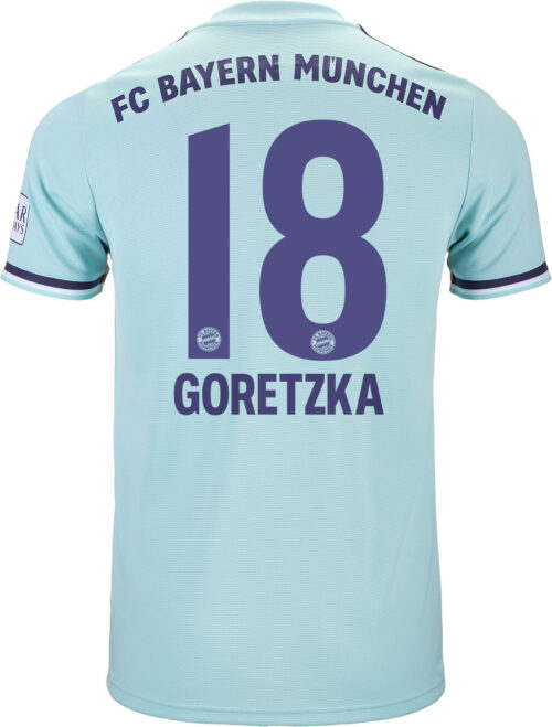 2018/19 adidas Leon Goretzka Bayern Munich Away Jersey