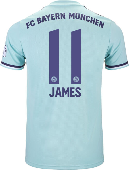 detailed look efee0 a8e4d James Rodriguez Jersey - FC Bayern & Colombia - SoccerPro.com