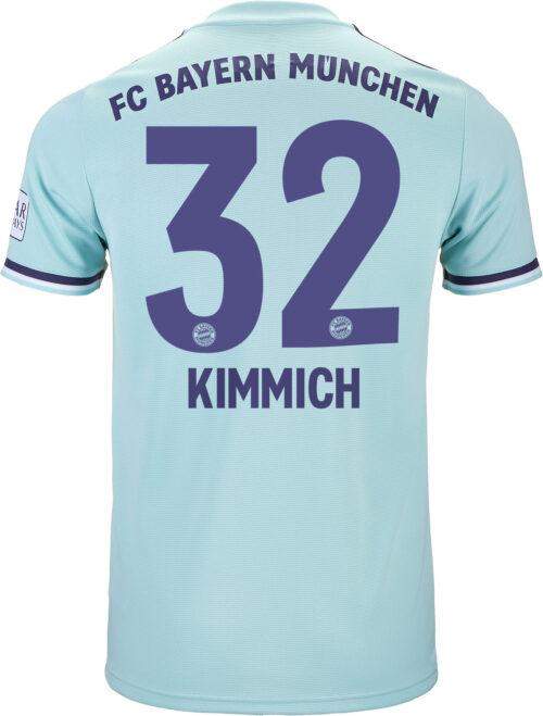 2018/19 adidas Johsua Kimmich Bayern Munich Away Jersey