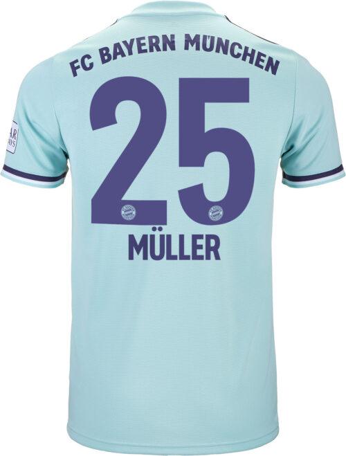 2018/19 adidas Thomas Muller Bayern Munich Away Jersey