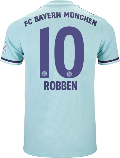 2018/19 adidas Arjen Robben Bayern Munich Away Jersey