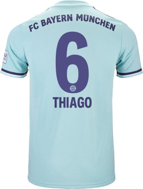 XL Thiago Alcantara signiert Bayern München Spanien Trikot