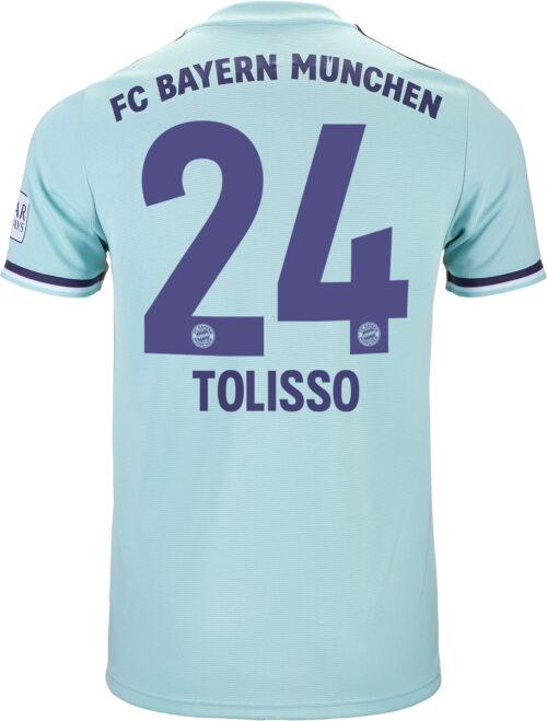2018/19 adidas Corentin Tolisso Bayern Munich Away Jersey
