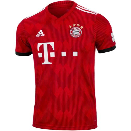adidas Bayern Munich Home Jersey – Youth 2018-19