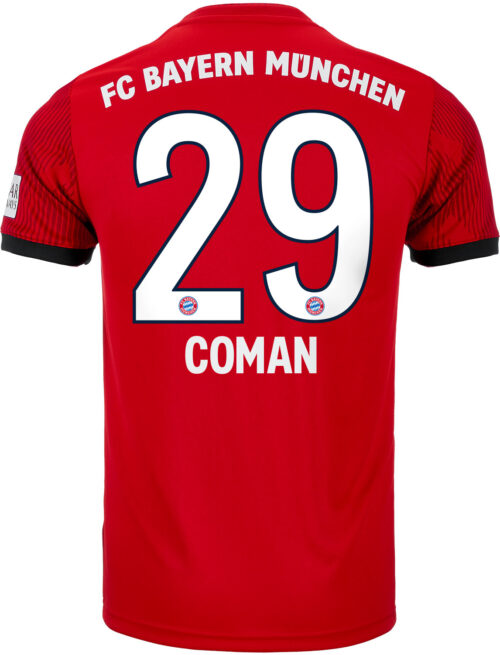 adidas Kingsley Coman Bayern Munich Home Jersey – Youth 2018-19