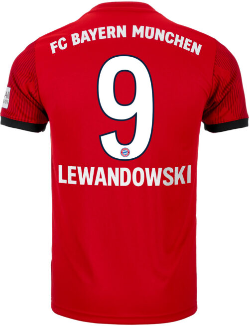 adidas Robert Lewandowski Munich Home Jersey – Youth 2018-19