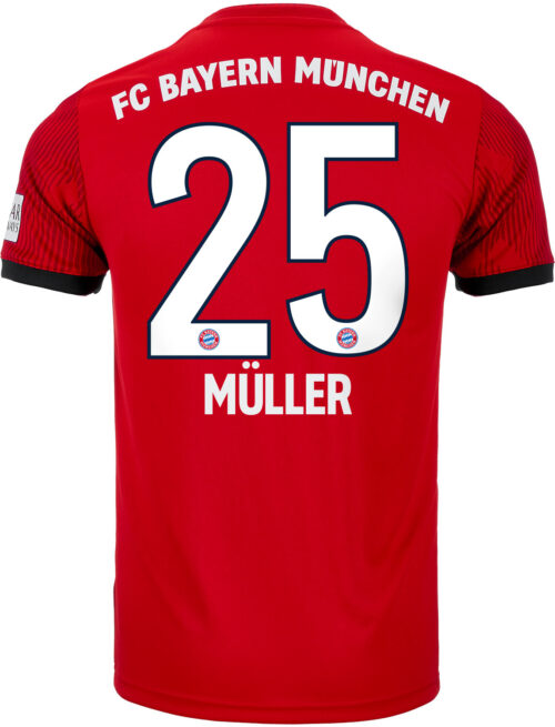 adidas Thomas Muller Bayern Munich Home Jersey – Youth 2018-19