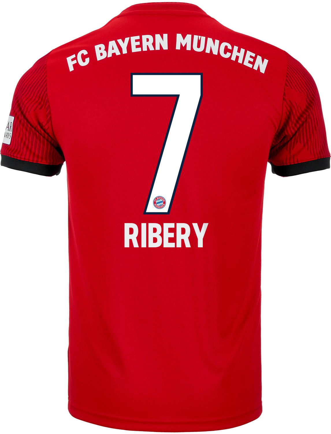 Adidas Franck Ribery Bayern Munich Home Jersey Youth 2018 19 Soccerpro