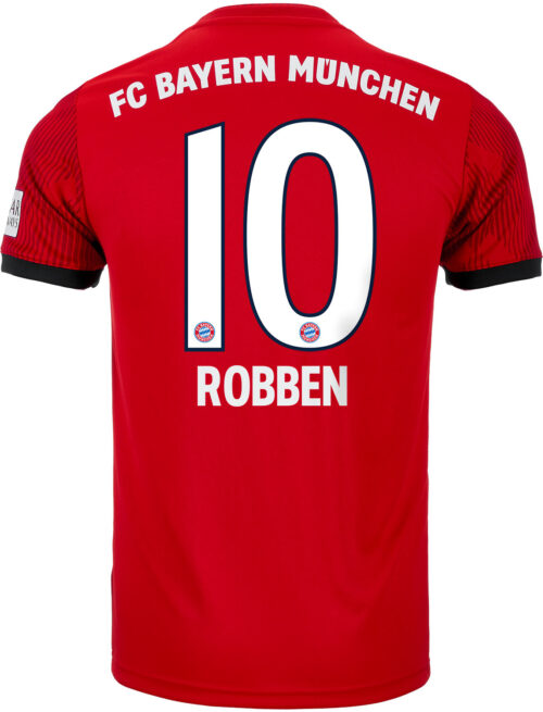 adidas Arjen Robben Bayern Munich Home Jersey – Youth 2018-19
