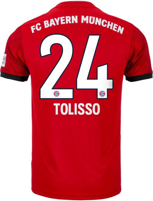 adidas Corentin Tolisso Bayern Munich Home Jersey – Youth 2018-19
