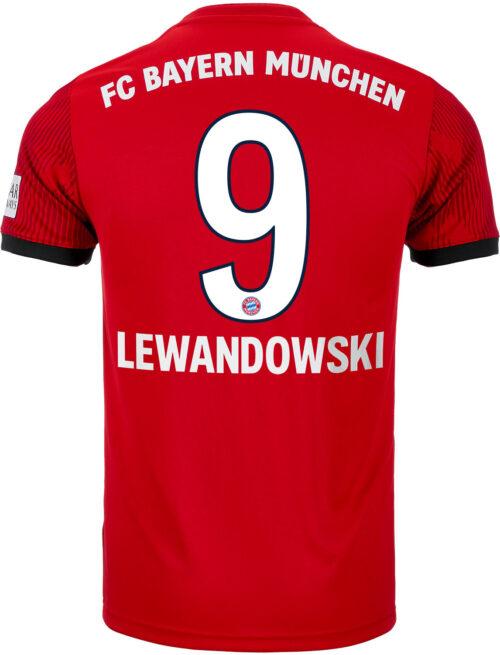 adidas Robert Lewandowski Bayern Munich Home Jersey 2018-19