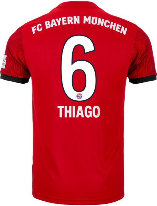 adidas Thiago Bayern Munich Home Jersey 2018-19