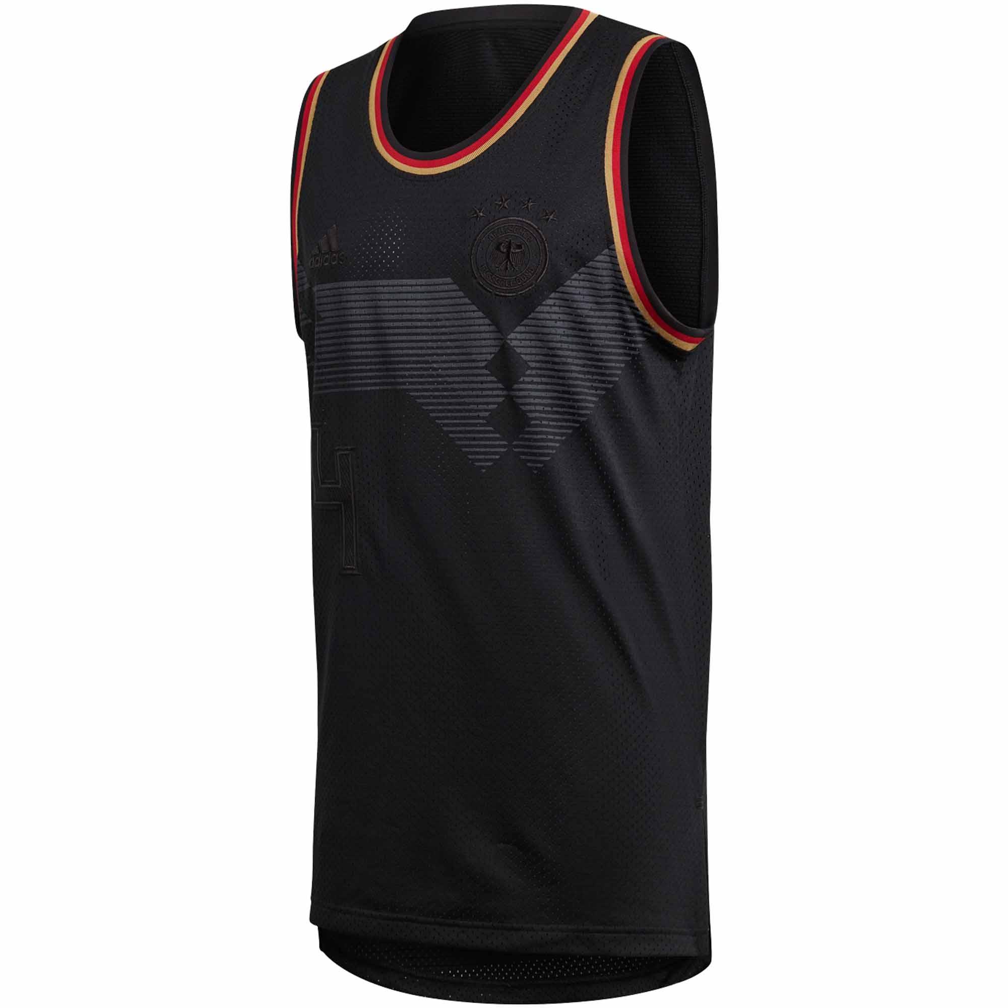00acbf45cbf5ae adidas Germany Basketball Jersey 2018-19 - SoccerPro
